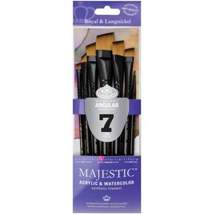 Royal Brush . RBM Majestic Angular Brush Set 7pc