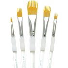 Royal Brush . RBM Aqualon Filbert Wisp Brush Set 5pcs