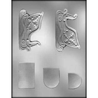 CK Products . CKP Sleigh 4 1/4 3D Chocolate Mold