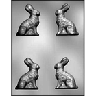 "CK Products . CKP 3"" 3D Bunny Chocolate Mold"