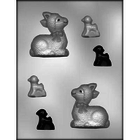 "CK Products . CKP 3"" 3D Lamb Chocolate Mold"