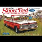 Moebius Models . MOE Moebius 1966 Ford Short Bed Styleside Pickup 1/25 Model Kit
