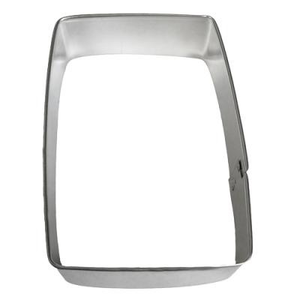 "CK Products . CKP 3-1/2"" Rectangle - Cookie Cutter"