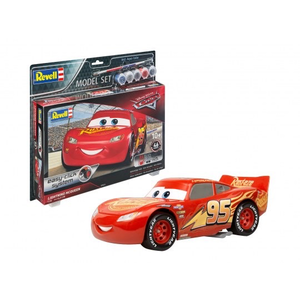 Revell of Germany . RVL 1/24 Lightning McQueen Model Set