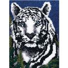 Wonder Art . WDA Latch Hook - White Tiger