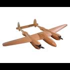 Flitetest . FLT Flite test P-38 lightening electric airplane kit(1460 mm)