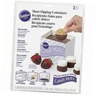 Wilton Products . WIL Disposable Dipping Trays 3pcs