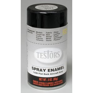Testors Corp. . TES Spray 3 Oz Dark Aircraft Gray