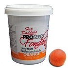 Fat Daddio's  . FAT (DISC) - Orange Fondant 2lb (Vanilla Flavor)