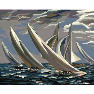 Plaid (crafts) . PLD PAINT BY #RACING SAILBOATS