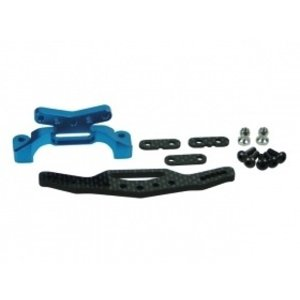 3 Racing . 3RC Rear Graphite Shock Tower