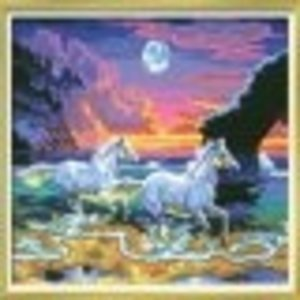 KSG Limited . KSG SEN PAINT BY #'S HORSES IN SEA