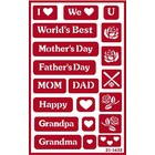 Armour Products (etch) . API MOTHER AND FATHER STENCIL