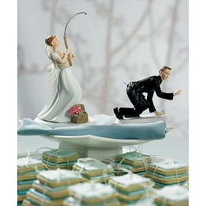 Wedding Star . WST GONE FISHING BRIDE CAUCASION
