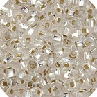 John Bead Corporation . JBC Seedbead Silverline Crystal