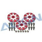 Align RC . AGN (DISC) - D6CJ METAL SERVO HORN SET/JR