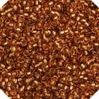 John Bead Corporation . JBC SEEDBEAD 10/0 TOPAZ/COPPER LINE