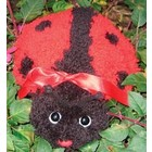 MCG Textiles . MCG LADYBUG HUGGABLE LATCH HOOK