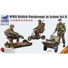 Bronco Models . BRC 1/35 WWII BRITISH PARATROOPERS SET B