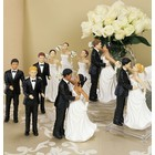 Wedding Star . WST (DISC)-Asian Bride - Cake Topper