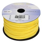 John Bead Corporation . JBC FAUX SUEDE LACING 50M YELLOW