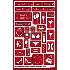 Armour Products (etch) . API Bachelorette Party - Glass Etching Stencil