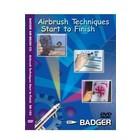Badger Air.Brush Co . BAD DVD AIRBRUSH TECHS START TO FN
