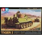 Tamiya America Inc. . TAM 1/48 German Tiger 1 Initial Pr