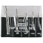 Du Bro Products . DUB 10Pc Metric Tap & Drill Set