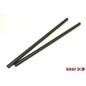 Gaui . GAI GAUI X3 Tail Boom (Black anodized) 2pcs
