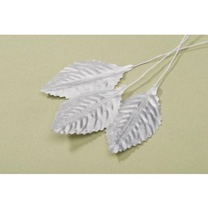 Victoria Lynn Collection . VLC (DISC) 2 1/2 Single Roseleaf Silver