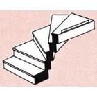 Plastruct . PLS G CUSTOM RIGHT TURN STAIRCASE