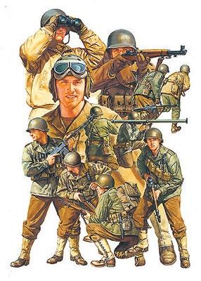 Tamiya America Inc Tam 1 48 Ww2 Us Army Infantry Gi S