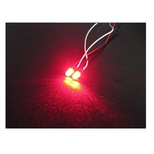 3 Racing . 3RC 5mm Flash Led 3rac-Leds Red