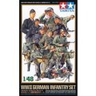 Tamiya America Inc. . TAM 1/48 WW2 GERMAN INFANTRY SET