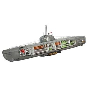 Revell of Germany . RVL U-BOAT TYPE XXI U2540 1/144