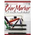 Royal (art supplies) . ROY COLOR MARKER PAPER PAD SET