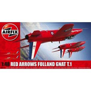 Airfix . ARX 1/48 RED ARROWS GNAT
