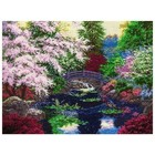 MCG Textiles . MCG Bridge of Tranquility - Counted Cross Stitch