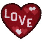 MCG Textiles . MCG LOVE HEART SHAPED LATCH HOOK