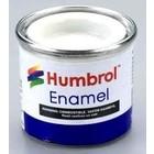 Humbrol Paint . HUM ENAMEL - WHITE (G)