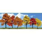 "Woodland Scenics . WOO Harvest Blaze Trees 1 1/4""- 3"""