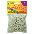 Pepperell . PEP STRTCHBND LOOPS 500CT NEON WHT