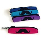 Geddes . GED MUSTACHE SOFT PENCIL POUCH
