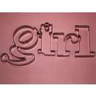 """Petal Crafts . PTC """"girl"""" CUTTER SET"""