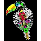 Stuff To Color . SFC 16X20 Velvet Poster Inner Nature Toucan