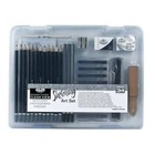Royal (art supplies) . ROY SM CLEAR CASE SKETCH SET