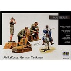 Masterbox Models . MTB 1/35 GRMN TNKMEN W/DONKEY AFRK