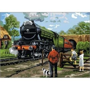 Royal (art supplies) . ROY Pbn Steam Train Adult Lg