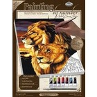 Royal (art supplies) . ROY LION PAINT BY # CANVAS